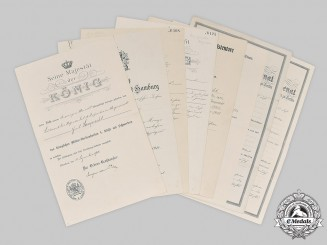 Germany, Imperial. A Collection of Documents to Oberleutnant Emil Lamprecht