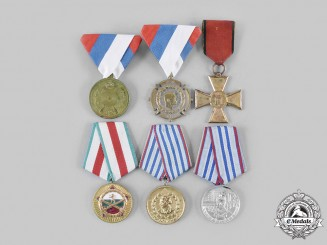 Bulgaria, People's Republic; Serbia, Kingdom. A Lot of Six Awards