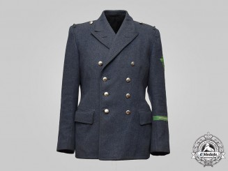 Germany, Luftschutzpolizei. An Air Raid Protection Police Service Tunic, Protectorate of Bohemia and Moravia