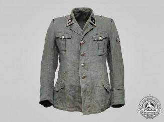 Germany, SS. A SS-Totenkopfverbände Unterscharführer's M37 Tunic
