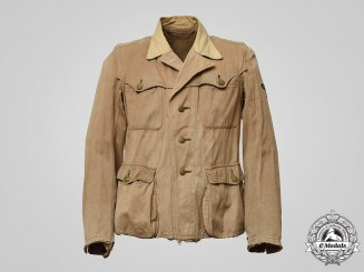 Germany, SS. A Waffen-SS Sahariana Tropical Field Blouse