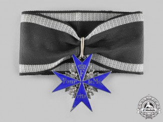 Prussia, German State. A Post War Pour-le-Mérite, by Wagner, c. 1930