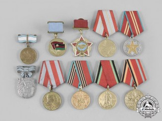 Russia, Soviet Union. A Lot of Ten Awards