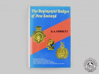 New Zealand. The Regimental Badges of New Zealand, 2nd Edition by D.A. Corbett