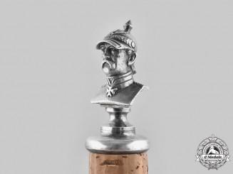 Germany, Imperial. An Otto von Bismarck Wine Stopper