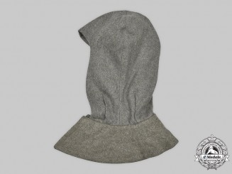 Germany, SS. A Removable Greatcoat Hood, 6th SS Mountain Division Nord, by R. & A. Becker