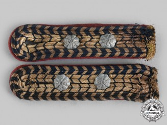 Germany, Third Reich. A Pair of German National Railway Shoulder Boards