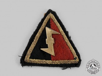Germany, Third Reich. A Dutch NSB Tunic Sleeve Patch