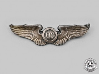 United States. An American Pilot/Observer Badge, by N.S. Meyer of New York