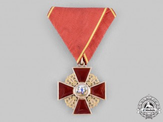 Russia, Imperial. An Order of Saint Anne, III Class in Gold