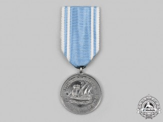 Argentina. A Discovery of America Centenary Medal, in Silver