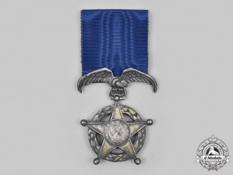 Chile, Republic. An Order of Merit, Type Ill, III Class Medal