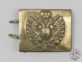 Austria, Empire. First War Period Austro-Hungarian Army EM/NCO's Belt Buckle