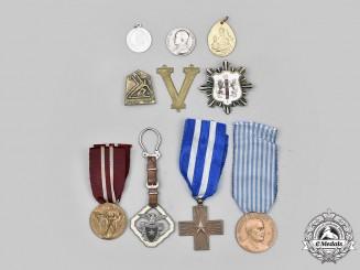 Italy, Kingdom, Republic; Vatican. Lot of Ten Items