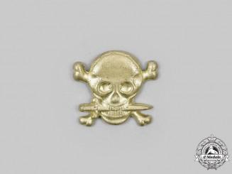 Italy, Fascist State.  A Black Brigades of Friuli Skull Badge