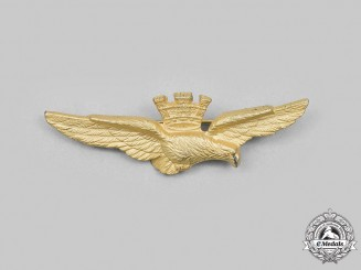 Italy, Republic. An Air Force Pilot's Badge