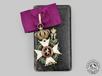Belgium, Kingdom. An Order of Leopold, Commander in Gold by Wolfers, c.1880