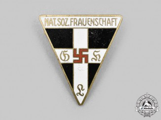 Germany, Third Reich. A National Socialist Women's League Membership Badge, by L. Christian Lauer