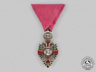 Austria, Imperial. An Order of Franz Joseph, Knight's Cross by Vincenz Mayers Söhne, ca. 1900