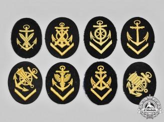 Germany, Kriegsmarine. A Lot of Rank and Trade Insignia