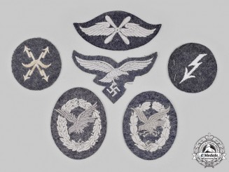 Germany, Luftwaffe. A Lot of Cloth Badges and Trade Insignia
