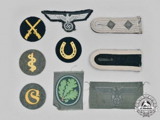 Germany, Heer. A Lot of Rank and Trade Insignia