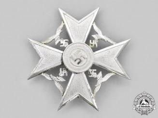 Germany, Wehrmacht. A Spanish Cross in Silver, by Steinhauer & Lück