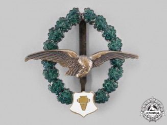 Austria, Second Republic. An Aerial Photographer Veteran's Commemorative Badge, by F. Peltz