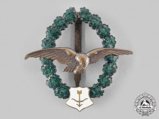 Austria, Second Republic. An Air Gunner Veteran's Commemorative Badge, by F. Peltz