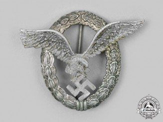 Germany, Luftwaffe. A Pilot Badge, by F.W. Assmann & Söhne