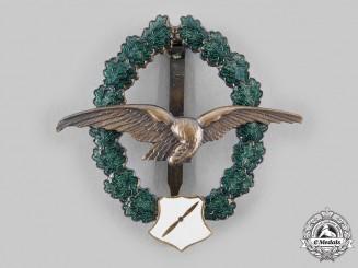 Austria, Second Republic. An Army Pilot Veteran's Commemorative Badge, by F. Peltz