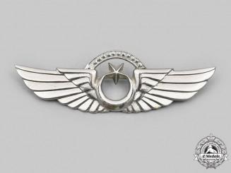 Turkey, Republic. Turkish Air Force Senior Pilot Badge c. 1980s-1990s