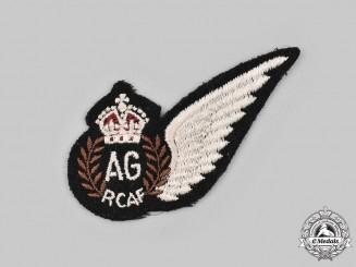Canada. A Second War Royal Canadian Air Force (RCAF) Air Gunner (AG) Wing