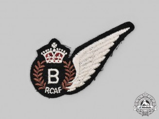 Canada. A Second War Royal Canadian Air Force (RCAF) Bombardier (B) Wing
