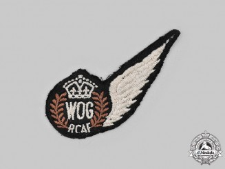 Canada. A British-Made Royal Canadian Air Force Wireless Operator Ground (WOG) Wing