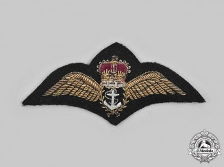 United Kingdom. A QEII Royal Navy Fleet Air Arm Wings
