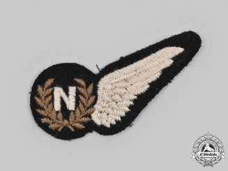 United Kingdom. A Second War Royal Air Force (RAF) Navigator (N) Wing