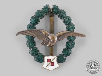 Austria, Second Republic. An Army Observer Pilot Veteran's Commemorative Badge, by F. Peltz