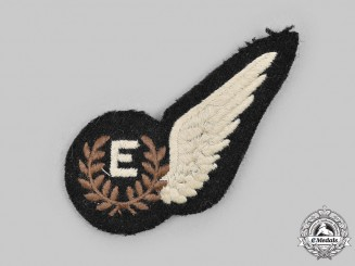 United Kingdom. A Second War Royal Air Force (RAF) Engineer (E) Wing