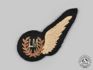 United Kingdom. A Second War Royal Air Force (RAF) Loadmaster (LM) Wing