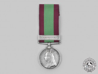 United Kingdom. An Afghanistan Medal to Pte Khan, 26th Regiment