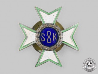 Poland, Republic. An 8th Mounted Rifle Regiment Badge