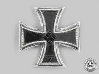 Germany, Wehrmacht. A Rare 1939 Iron Cross I Class, Schinkel-Style by Wilhelm Deumer