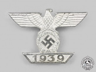 Germany, Wehrmacht. A Clasp to the 1939 Iron Cross I Class, Type II, by B.H. Mayer