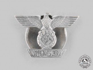 Germany, Wehrmacht. A Clasp to the 1939 Iron Cross I Class, Type II, by Godet