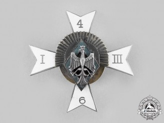 Poland, Republic. A 6th Mounted Rifle Regiment of Herman Zolkiewshi Badge