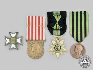 Belgium, Kingdom; France, Third Republic. A Lot of Four Awards