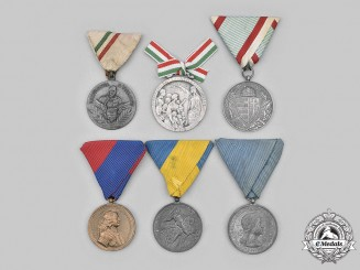 Hungary, Regency. A Lot of Six Medals