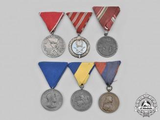 Hungary, Regency, Socialist Republic. A Lot of Six Medals