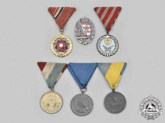 Hungary, Regency, Socialist Republic. A Lot of Six Awards